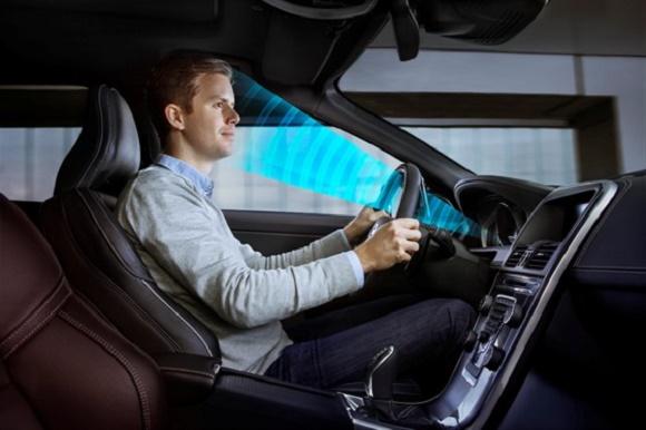 Volvo Sensortechnik zur Erkennung von müden und unaufmerksamen Fahrern © Volvo Cars