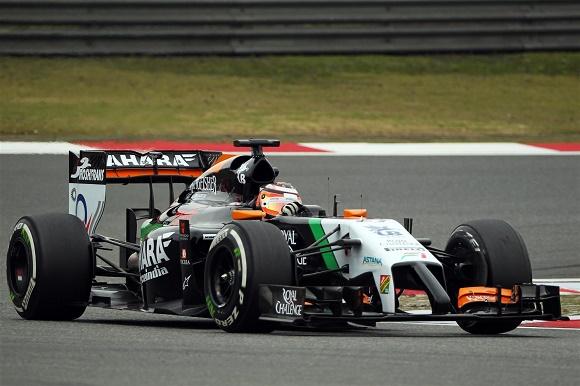Nico Hülkenberg Sahara Force India China GP 2014 © Sahara Force India Formula One Team