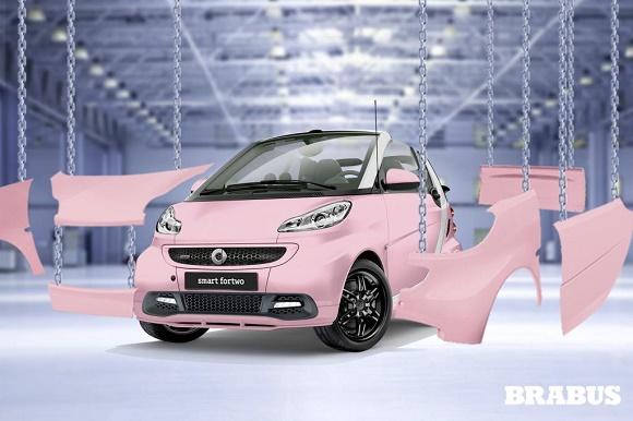 smart BRABUS fan edition © Daimler AG