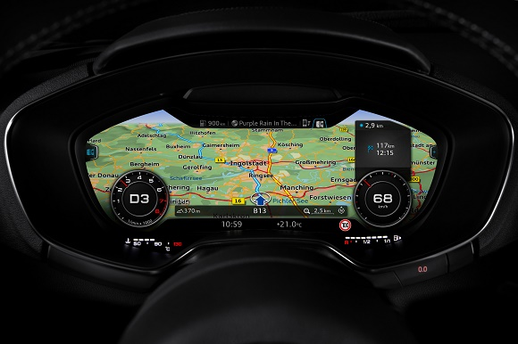 Audi TT Coupé - virtual cockpit © Audi AG