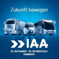 65. IAA Nutzfahrzeuge in Hannover 2014 Logo © VDA