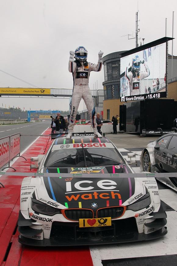 DTM 2014 Marco Wittmann vom BMW Team RMG gewinnt im BMW M4 DTM vorzeitig den Fahrertitel © BMW AG