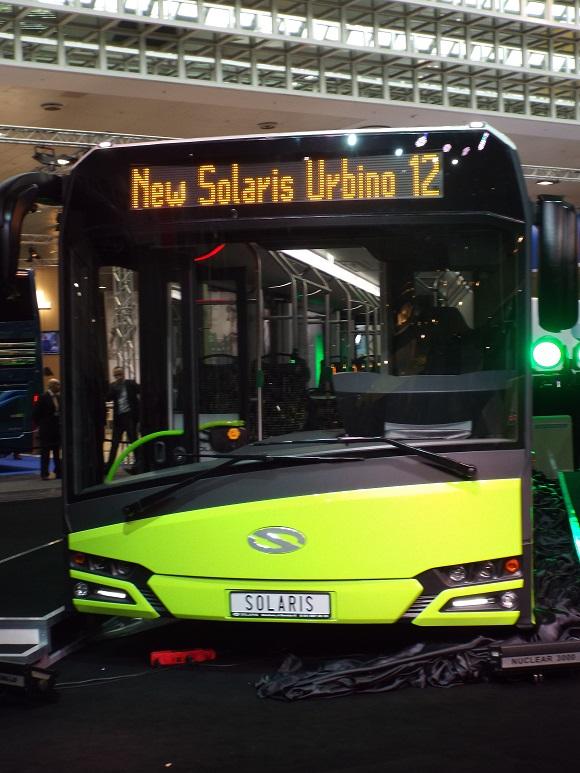 IAA Nutzfahrzeuge 2014 Weltpremiere des New Solaris Urbino 12 © Christel Weiher