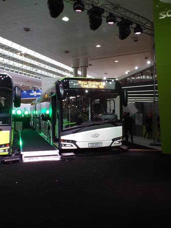 IAA Nutzfahrzeuge 2014 Weltpremiere des New Solaris Urbino 18 © Christel Weiher