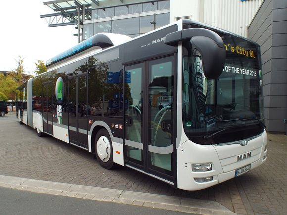 MAN Lion´s City GL CNG ist der Bus of the Year 2015 © Christel Weiher