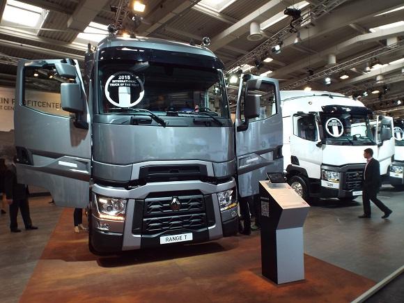 Renault Trucks T International Truck of the Year 2015 © Christel Weiher