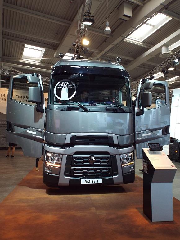 Renault Trucks T ist der International Truck of the Year 2015 © Christel Weiher