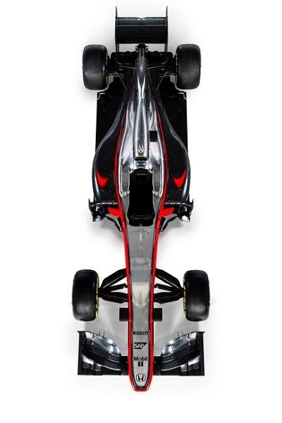 Formel 1 2015 McLaren-Honda der neue Bolide MP4-30 © Honda