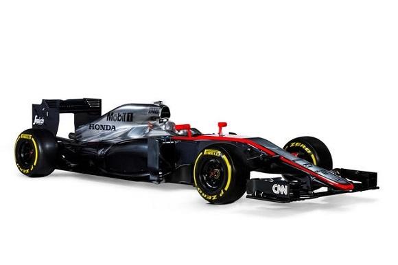 Formel 1 2015 McLaren-Honda zeigt erstmals den neuen MP4-30 © Honda