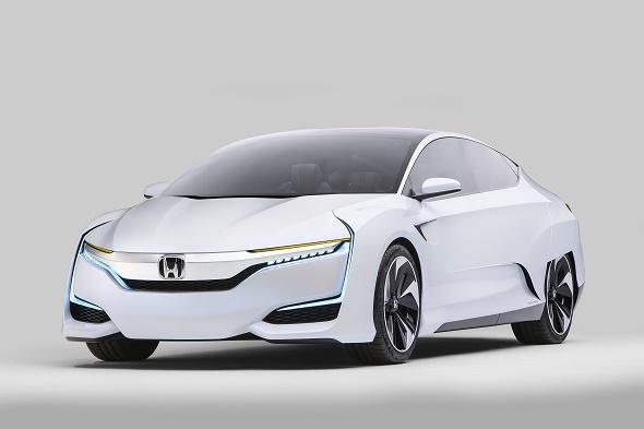 Honda FCV Concept auf der Detroit Motor Show 2014 © Honda