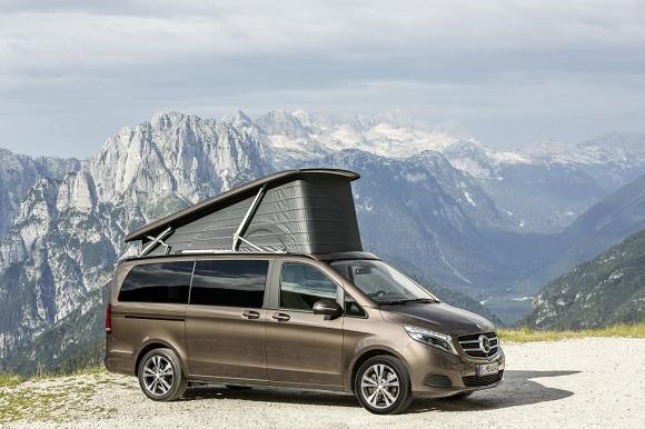 Mercedes-Benz Marco Polo ist Kompakt-Reisemobil des Jahres 2015 © Daimler AG