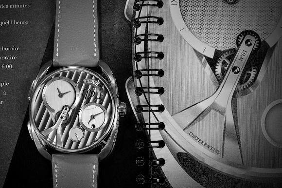 Pecqueur Conceptuals Concept-Uhr © Peugeot