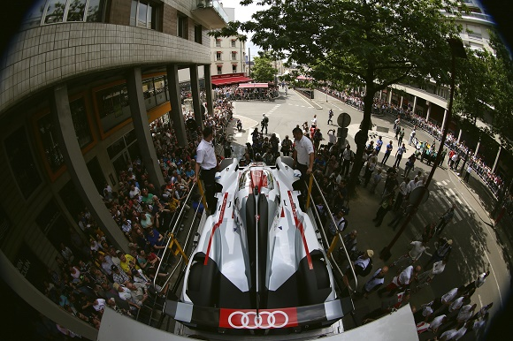 Audi kehrt mit drei R18 e-tron quattro nach Le Mans zurück © Audi