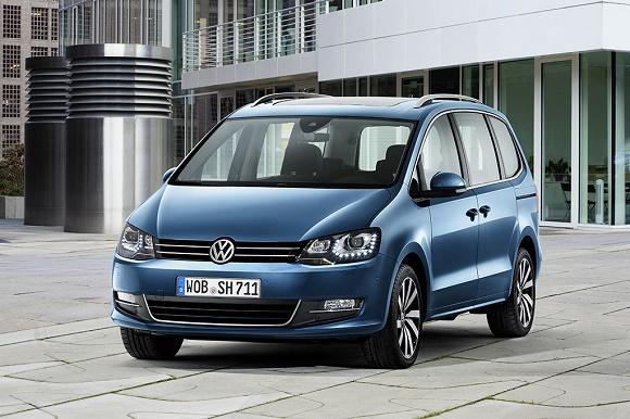 Der neue VW Sharan 2015 © Volkswagen