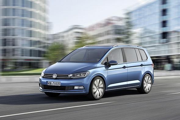 Der neue VW Touran 2015 © Volkswagen