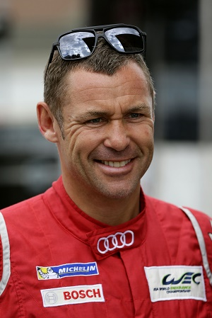 Tom Kristensen ist in Le Mans 2015 Grand Marshal © Audi