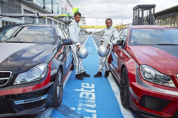 Alarm für Cobra 11 Die neue Staffel 2015 Das letzte Rennen Vinzenz Kiefer und Erdogan Atalay © RTL / Guido Engels