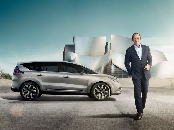 Renault Espace Crossover Kevin Spacey 2015 © Renault