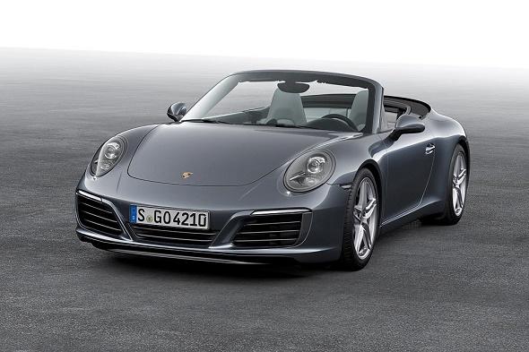Das neue 911 Carrera Cabriolet © Porsche