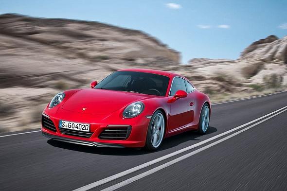Der neue Porsche 911 Carrera S © Porsche