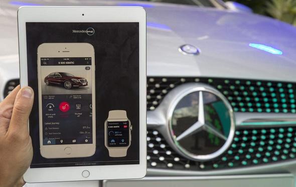 Die Mercedes me App © Mercedes-Benz