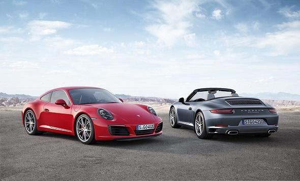 Der neue Porsche 911 Carrera S und das neue 911 Carrera Cabriolet © Porsche