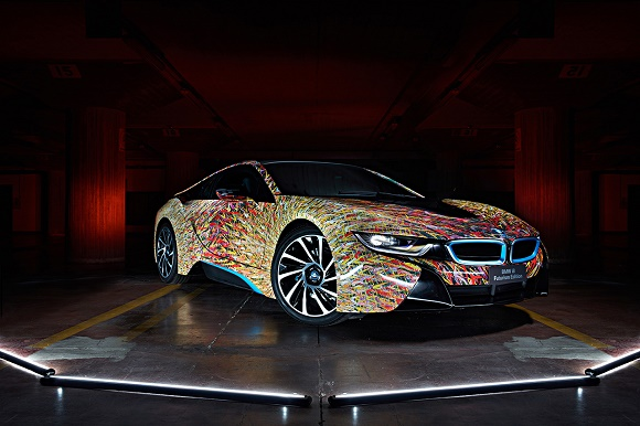 BMW i8 Futurism Edition © Garage Italia Customs