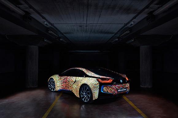 BMW i8 Futurism Edition Rückansicht © Garage Italia Customs