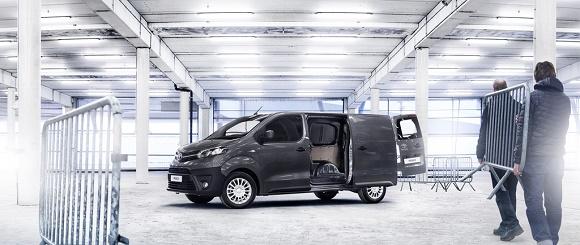 Der neue Toyota Proace © Toyota