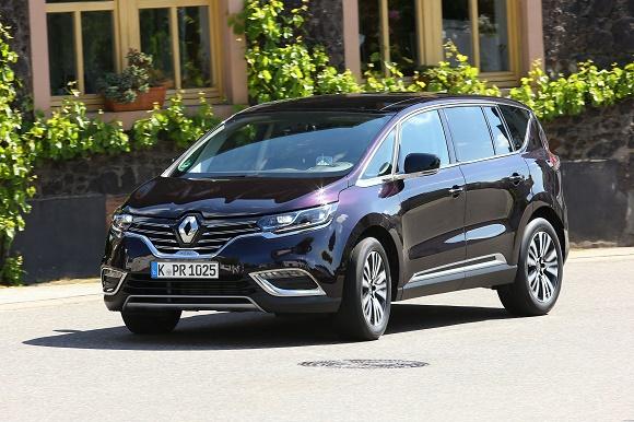 Renault Espace Restwertriese 2020 in der Van-Klasse © Renault