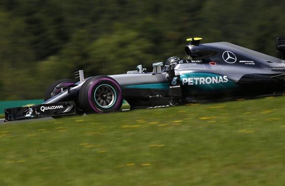 Formel 1 2016 Nico Rosberg Mercedes AMG Petronas Austrian GP auf dem Red Bull Ring in Spielberg © Daimler AG