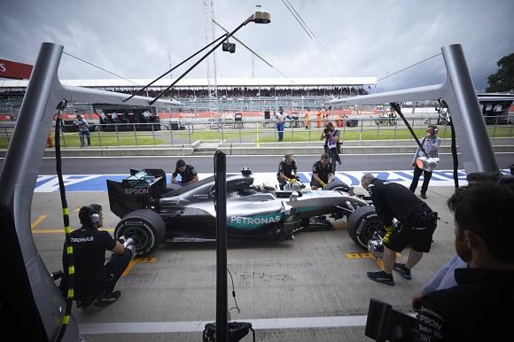 Formel 1 2016 Silverstone Lewis Hamilton Mercedes AMG Petronas Großer Preis von Großbritannien © Daimler AG