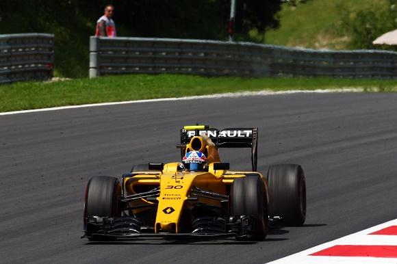 Jolyon Palmer Formel 1 2016 beim Großen Preis von Österreich Renault Sport Formel 1 Team © Renault Sport Formel 1 Team