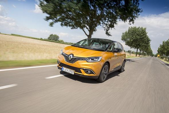Euro NCAP-Crashtest 2016 Fünf Sterne für den neuen Renault Scénic © Renault