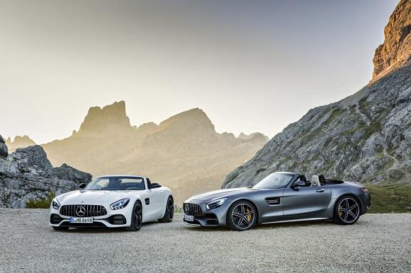 Der neue Mercedes-AMG GT Roadster und Mercedes-AMG GT C Roadster © Daimler