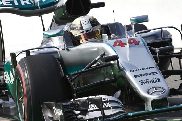 Formel 1 2016 Großer Preis von Italien in Monza Lewis Hamilton Mercedes AMG Petronas © Daimler AG